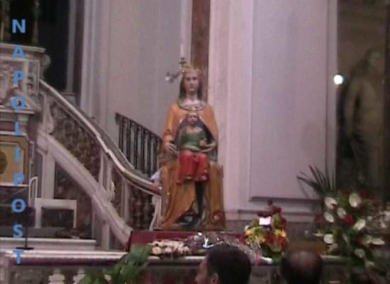 Piedigrotta, la festa per la Madonna, eventi religiosi con finale di fuochi d'artificio