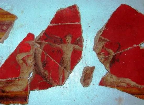 Pompei, Scavi archeologici in scena Agamennone