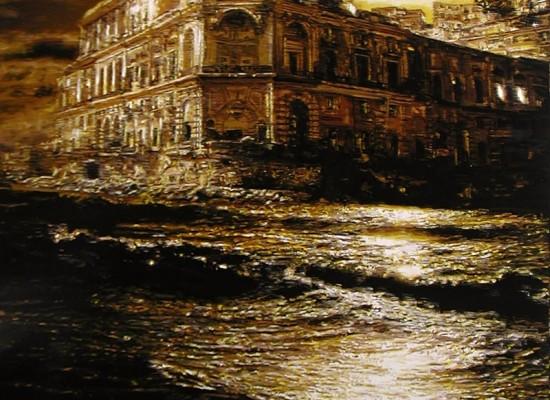 Napoli dipingere un Purgatorio