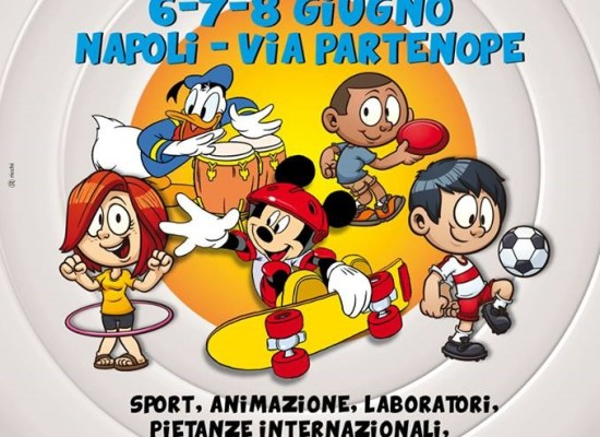 International Interaction 2014, a Napoli Together for kid