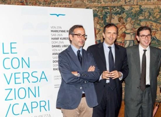 Conversazioni tra New York, Roma e Capri