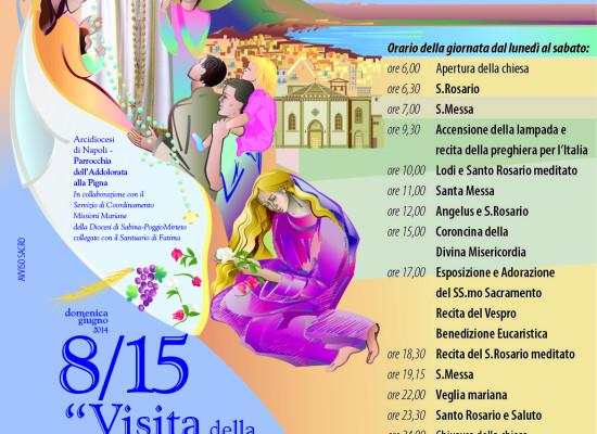 Da Fatima a Napoli, un viaggio dedicato ai fedeli