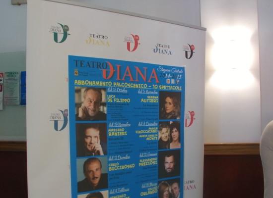 Teatro Diana stagione 2014, tra big e restyling
