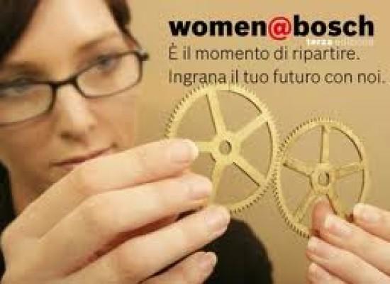 Professioni, una napoletana testimonial di Women Bosch