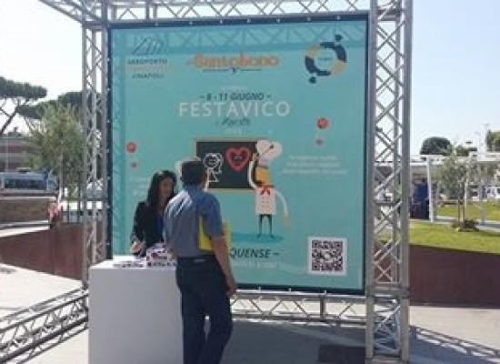 Aeroporto Napoli con Festa a Vico per bambini Santobono
