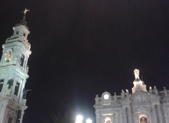Pompei, notte al Santuario