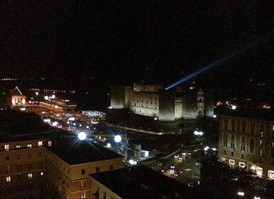 Napoli accende le lampade a led, nuovo piano illuminazione pubblica