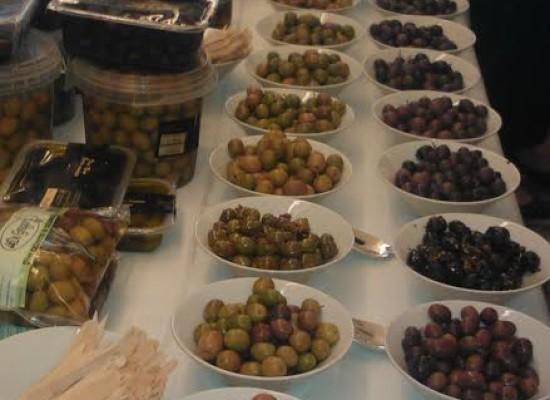 A tavola con sua maestà l'oliva di Gaeta