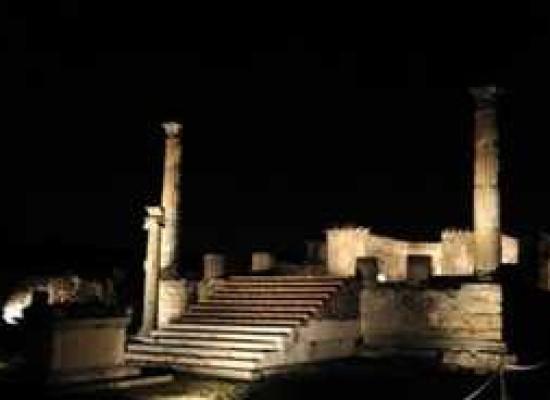 Pompei ed Ercolano, al via i percorsi di notte