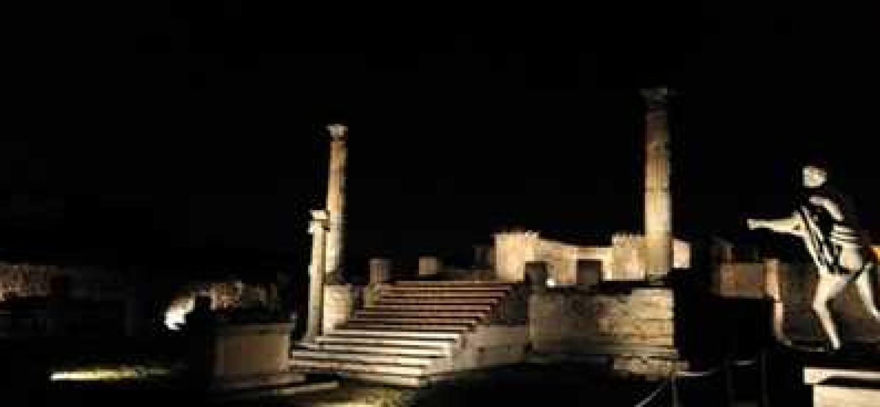 Cave Canem Pompei, Barroso estasiato da mosaico. A breve visibile di nuovo pubblico