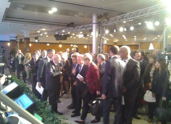 SME Assembly, Napolitano partecipa ma in silenzio. Parla solo con il Prefetto