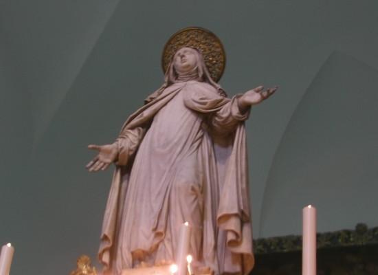 Santa Teresa restaurata