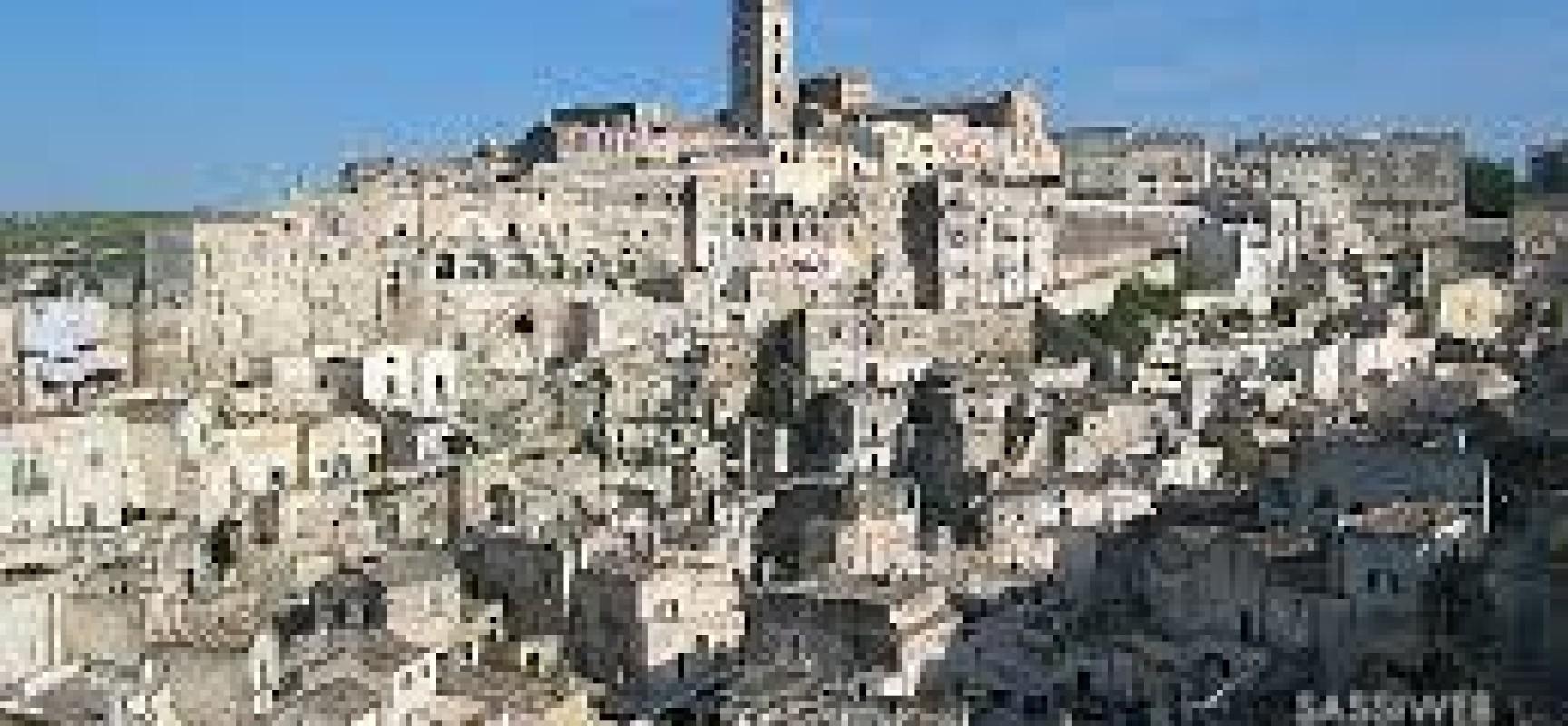 Matera, la città dalla dolente bellezza, è capitale europea della cultura