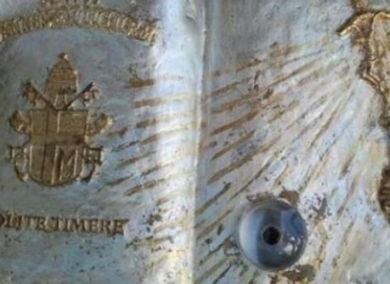 Teggiano e la reliquia di San Giovanni Paolo II