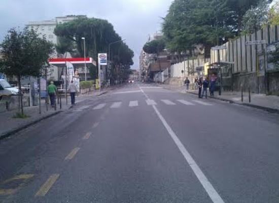 Napoli, riapre viale Colli Aminei e via Vecchia San Rocco e chiude via Miano