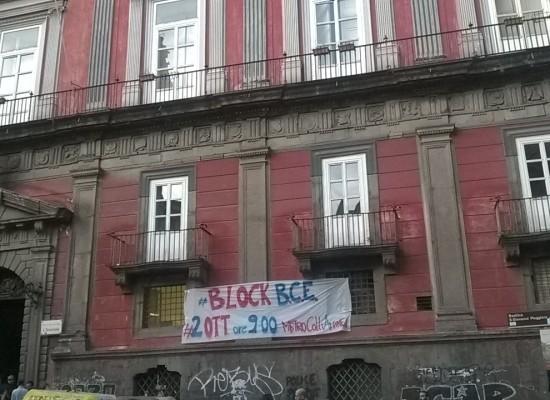 Napoli sotto assedio per il vertice BCE