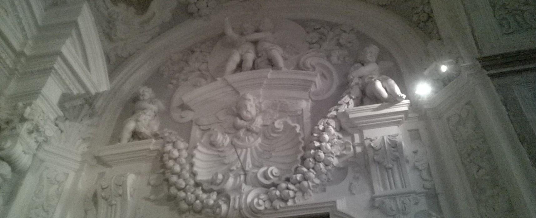 Gesù delle Monache, gli stucchi ritrovati tra arazzi, dipinti e martiri