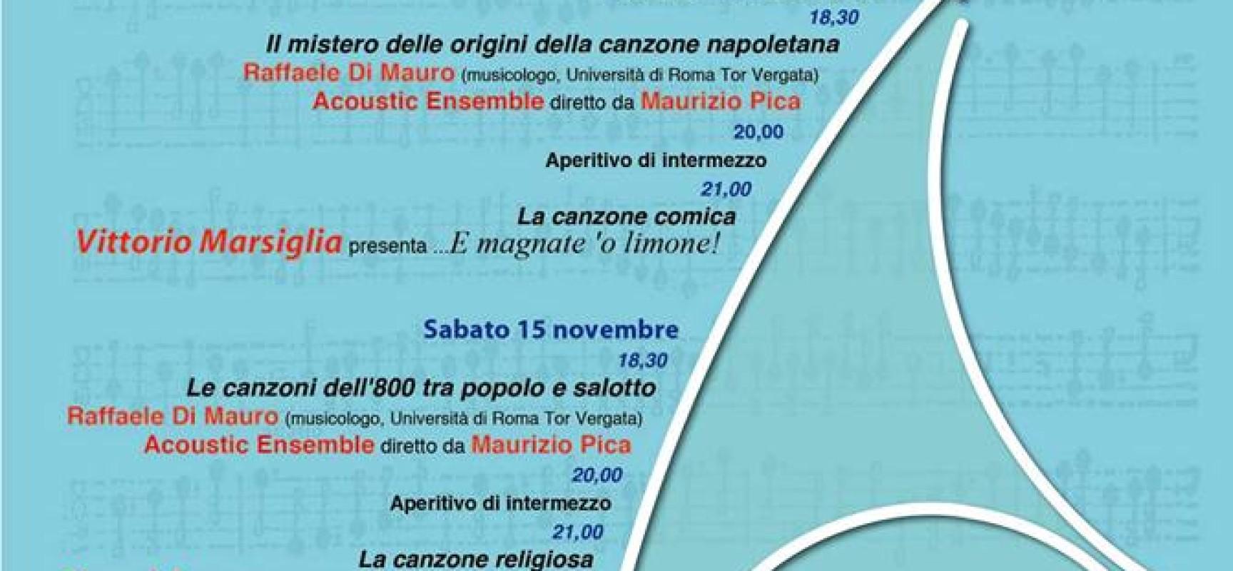 Canzone napoletana, nascono le Guide musicali