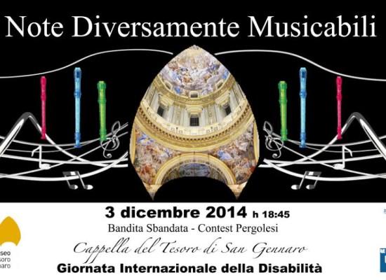 Museo San Gennaro in musica con suoni da diversa abilità