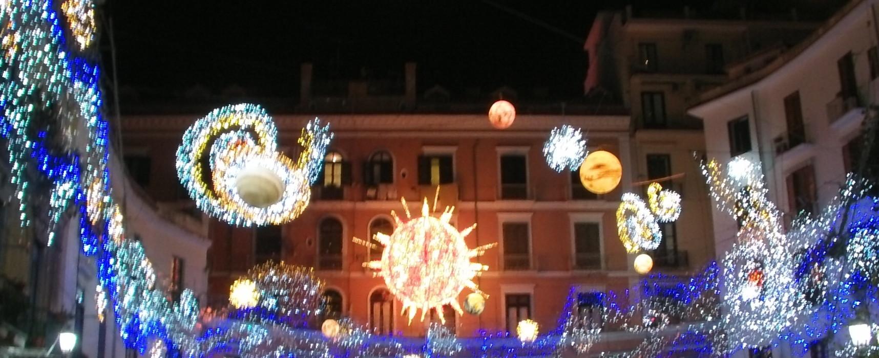Salerno con le Luci d'Artista verso un Museo diffuso