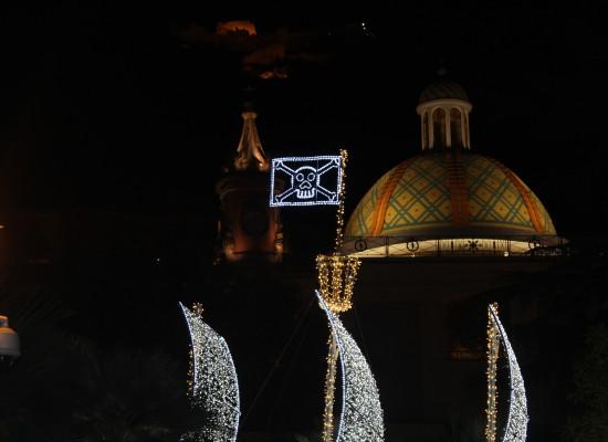 Salerno imbiancata festeggia con buona musica il Capodanno