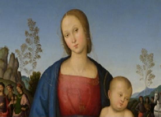 La Madonna dolce del Perugino restaurata a Capodimonte