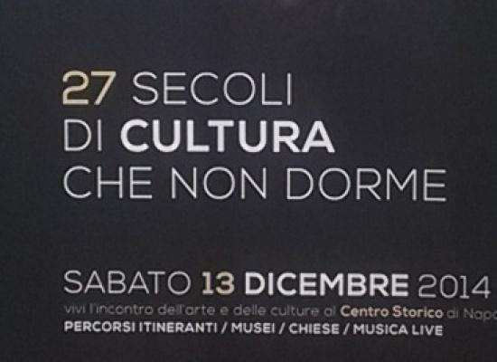 Napoli in Centro storico è una Buona notte d'Arte
