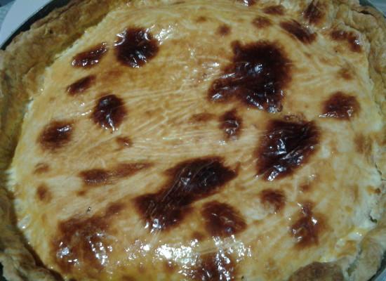 Natale in cucina, La torta rustica di Ippolito Cavalcanti con provola, mozzarella e servita calda