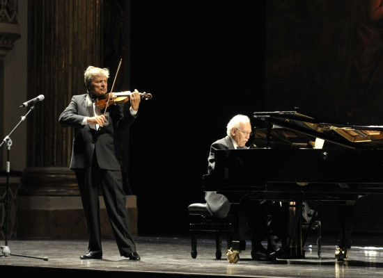 Uto Ughi ritorna al San Carlo con Alessandro Specchi