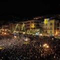 Salerno illuminata da Luci d'Artista sino a fine gennaio