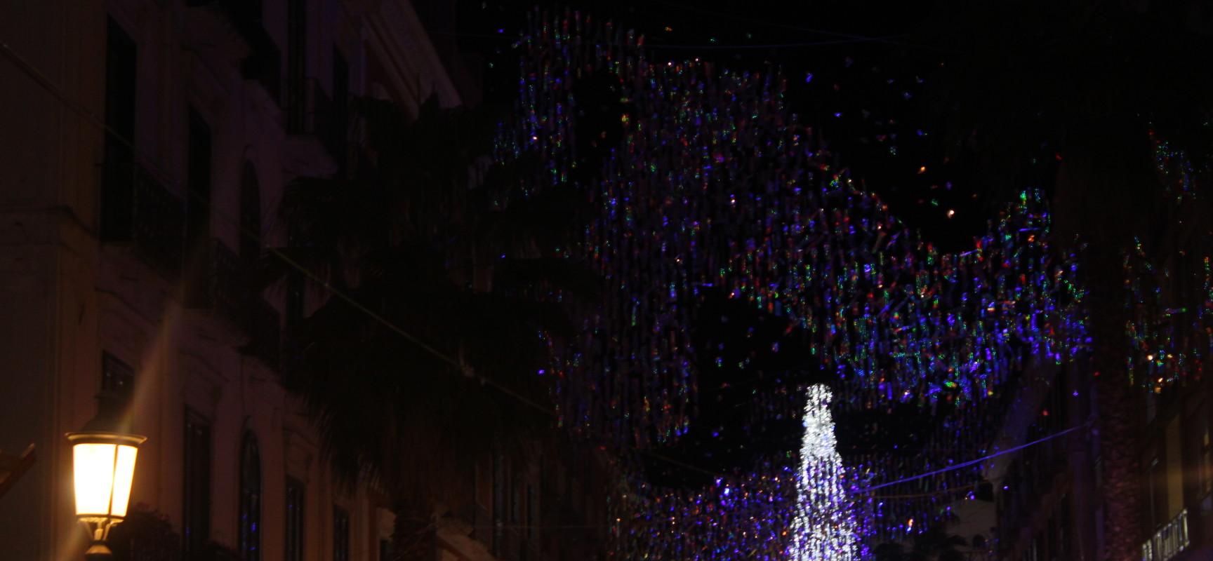 Capodanno 2014, Le Luci  di Artista incorniciano la festa