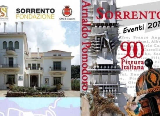 Mostre 2015, Sorrento espone Carrà, De Chirico, Bella, Sironi, Morandi, Schifano, Angeli, Boetti, De Dominicis e Pomodoro