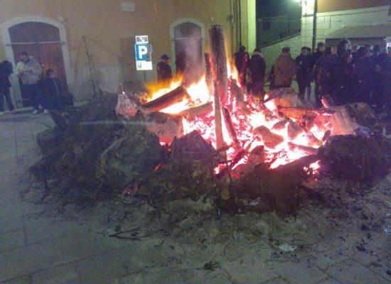 Sant'Antuono, la notte dei falò