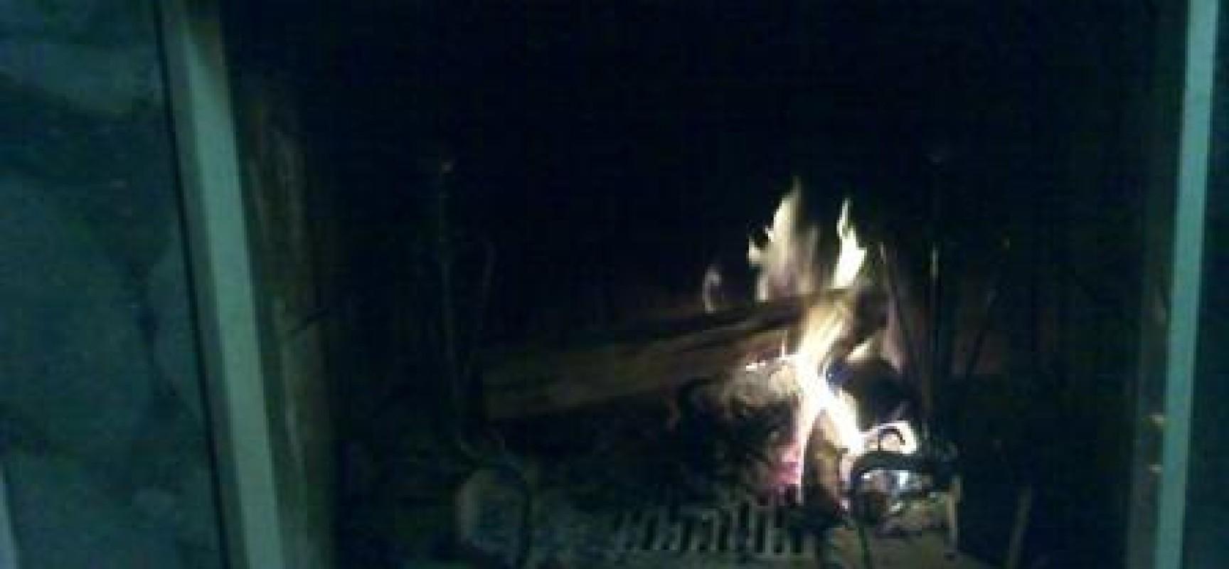 Santa Chiara accende il fuoco di Sant'Antonio