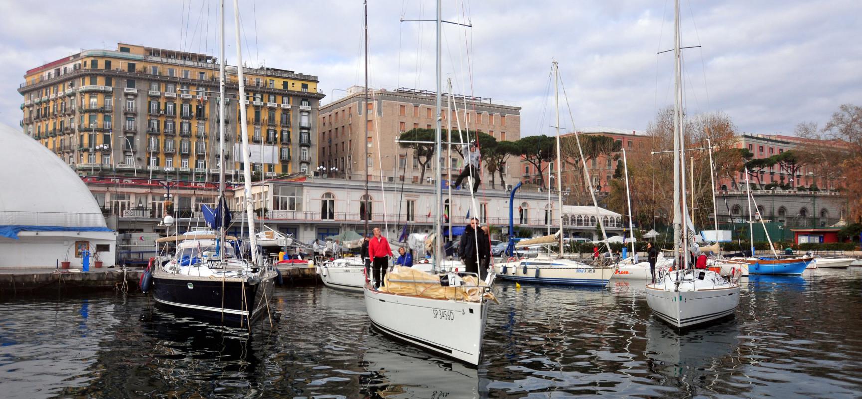 Immagini di regata Trofeo Gutteridge - Campionato Invernale d'Altura Golfo di Napoli 2014-2015 Photo ©Francesco Rastrelli