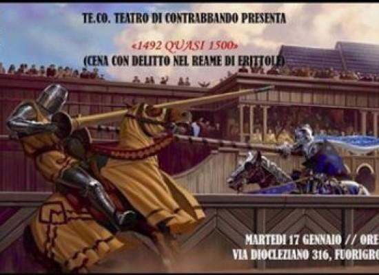 Carnevale 2015, Una tavola medioevale con delitto