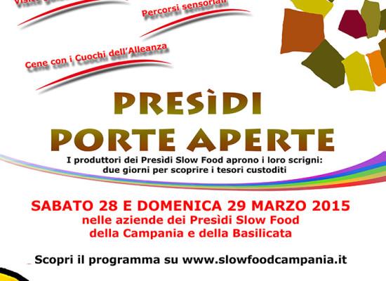 Campania e Basilicata, porte aperte nei presidi Slow Food