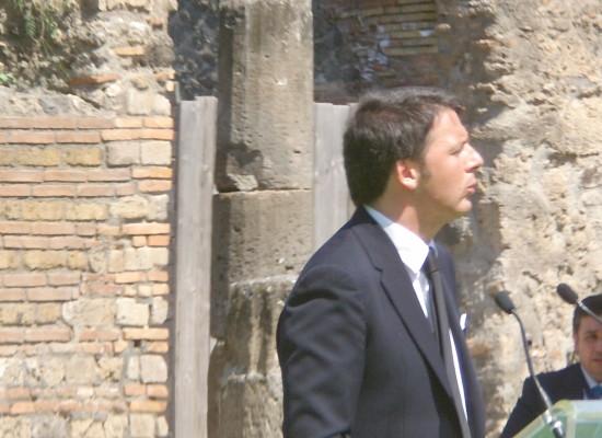 "Renzi a Franceschini: ""Si sta esercitando nel marketing"""