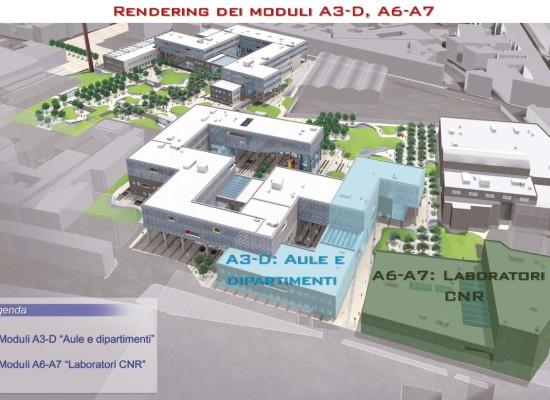 Università, la fabbrica che diventa aula, a San Giovanni a Teduccio 30 laboratori, 20 mila mq per Ingegneria, Fisica, Chimica e Biologia