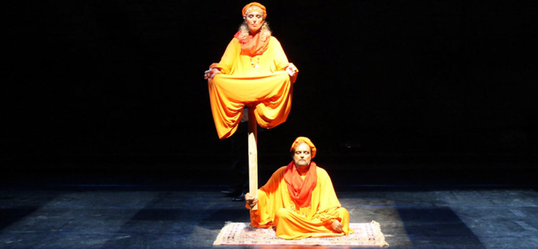 Teatro Sannazaro, Eduardo Tartaglia debutta con Statue unite