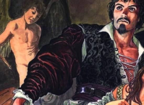 Comicon 2015, Caravaggio diventa fumetto by Milo Manara