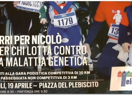 Telethon, Walk of Life 2015 per Nicolò e Gabriele