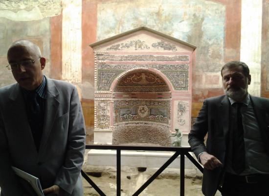 Pompei restaurata la domus visitata da Garibaldi