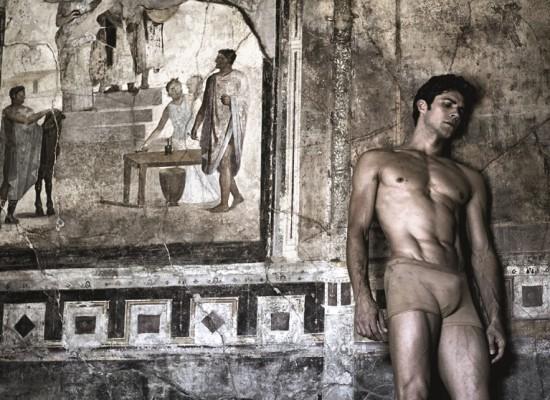 A Pompei, il sogno di Roberto Bolle