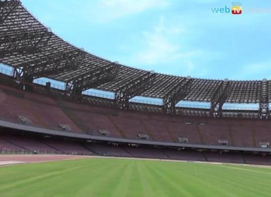 San Paolo si prepara alla Champions League
