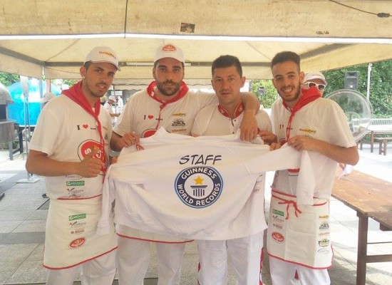 Trenta pizzaioli a Chiasso per il Guinness World Record