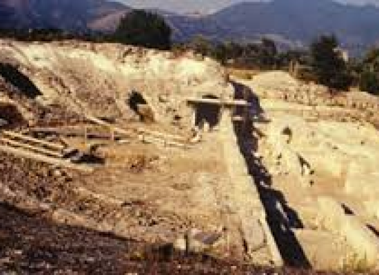 A Cales, colonia romana, al via intervento bonifica da pneumatici fuori uso