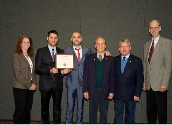 Ingegneri Federico II vincono prestigioso premio USA