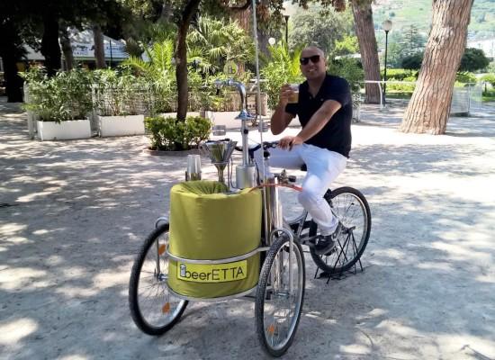 In bicicletta a sorsi di birra, arriva a Napoli beerETTA