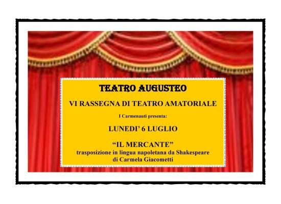 Augusteo, in scena un Shakespeare napoletano